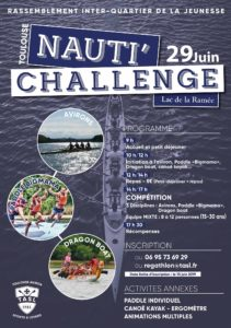 nauti challenge, regate inter quartier toulouse